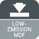 Low Emission MDF Icon 80x80